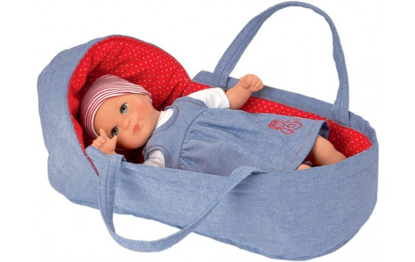 Mini Bambina baby doll Marta with carrier