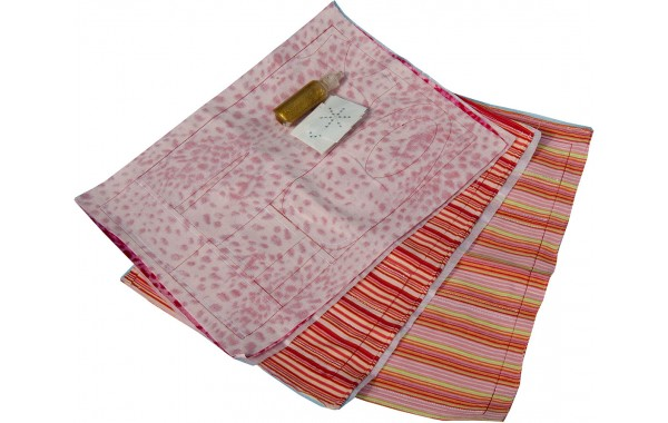 Marie Kruse orange-berry pre-sewn kit