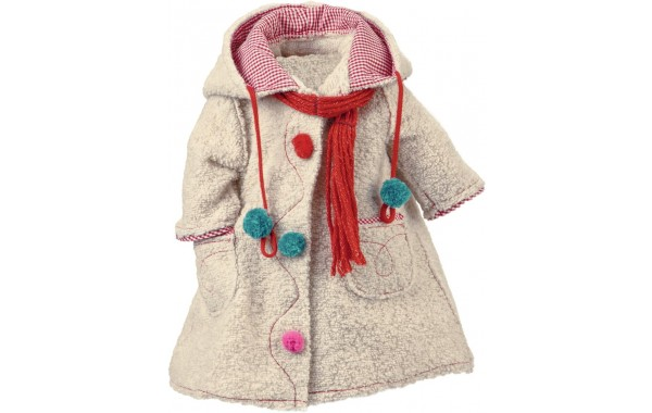 Lolle winter coat and scarf