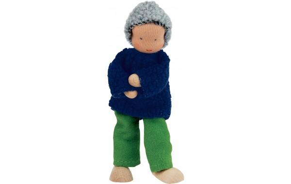 Waldorf grandfather doll