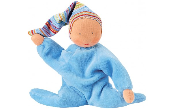 Nicki Baby light blue doll