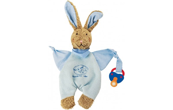 Bunny Rucola pacifier towel doll