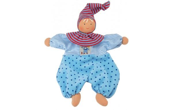Organic blue Gugguli doll