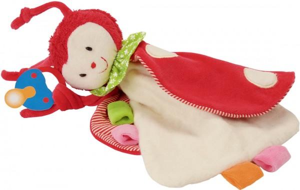 Mariquita pacifier towel doll
