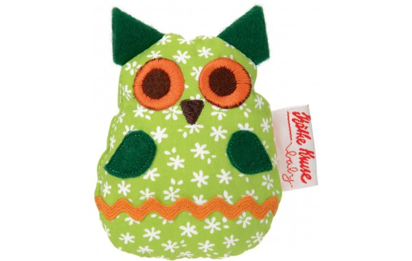 Tweeting green owl