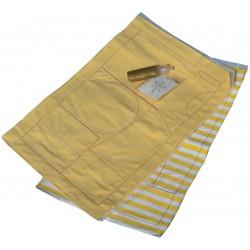 Marie Kruse yellow-white pre-sewn kit