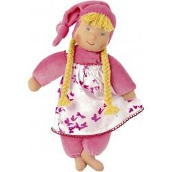Pink Waldorf Schatzi doll