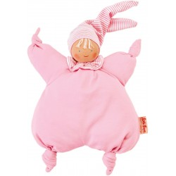 Organic Waldorf pink Gugguli doll