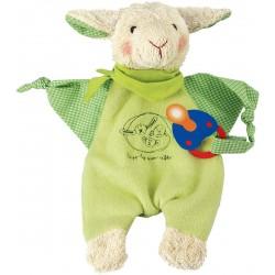 Lamb Endivio pacifier towel doll