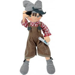 Paul cloth doll