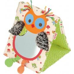 Alba owl activity toy with mirror
