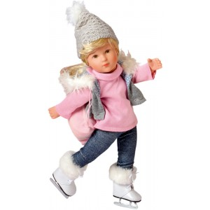 Sophie Muriel ice skater doll