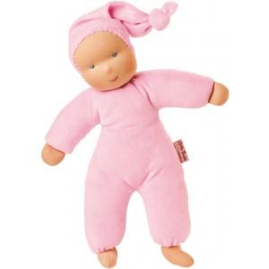 Organic Waldorf pink Schatzi doll