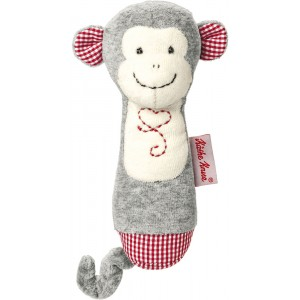 Carlo monkey grasping toy rattle