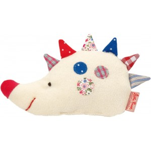 Luckies toy hedgehog rattle