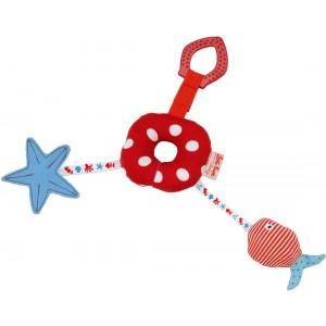 Calamari activity ring and teether