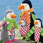 Penguins Friedjof and Nana Cloth Toys