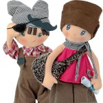 Paul and Paula Cloth Dolls Giveaway