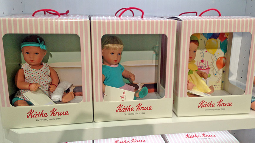 Bath babies in the new display cartons