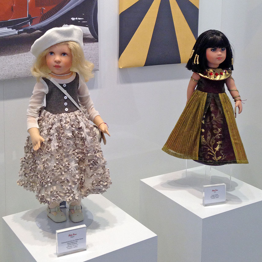 Faye and Liz collectible dolls