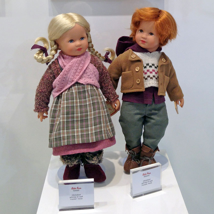 Hänsel and Gretel Child of Fortune dolls