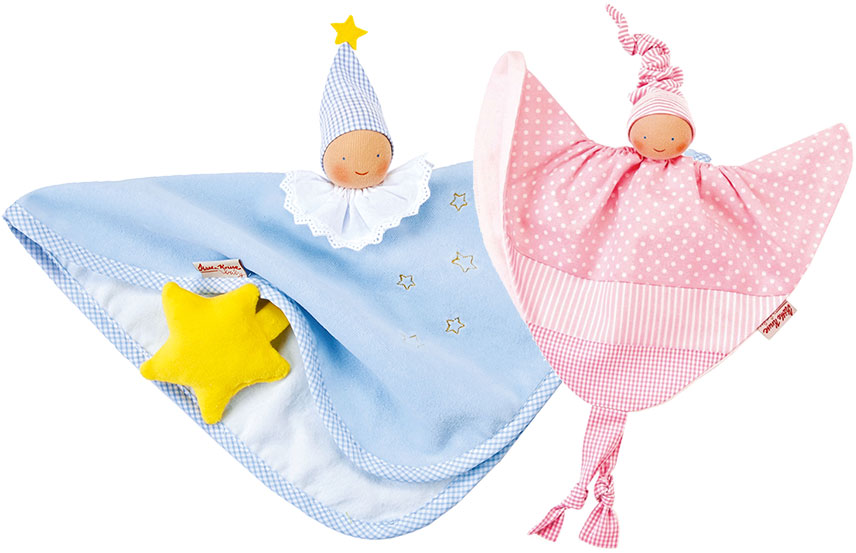 Organic towel dolls