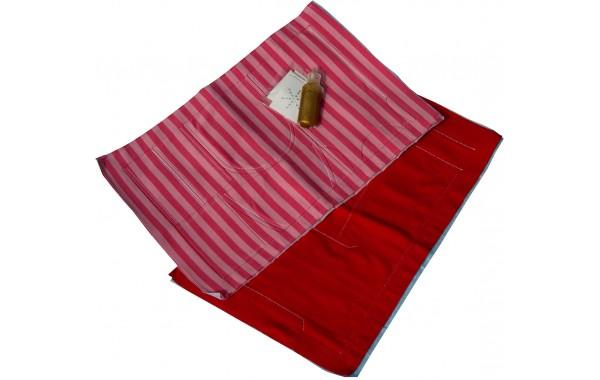 Marie Kruse pink-red pre-sewn kit