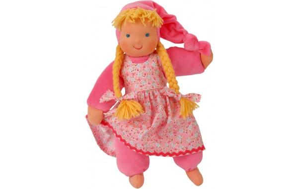 Pink Waldorf sweetheart doll