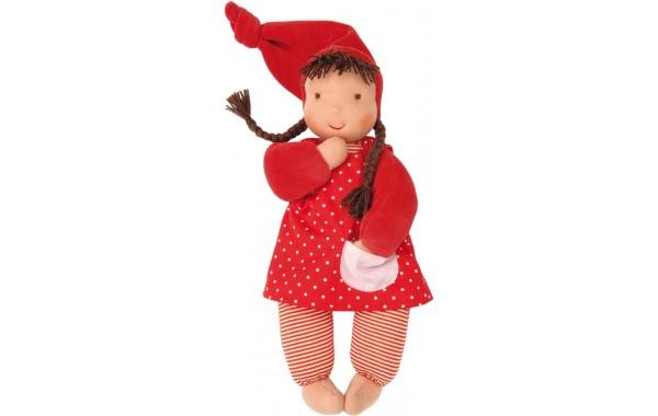 Red Schatzi Waldorf doll