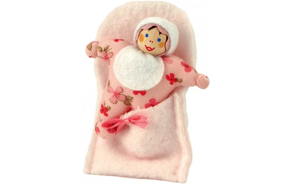 Baby doll with blanket