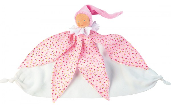 Pink fairy towel doll