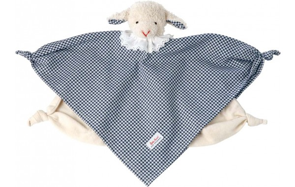 Vichy lamb towel doll