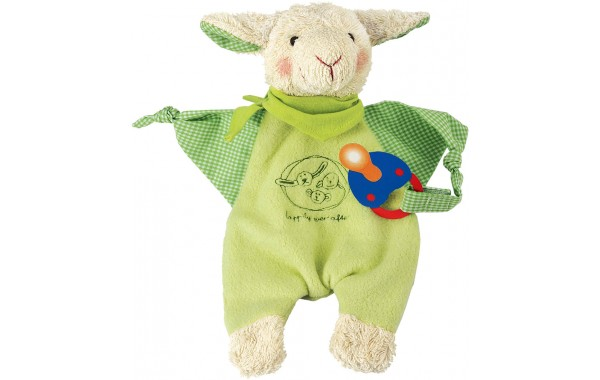 Lamb Endivio pacifier towel doll