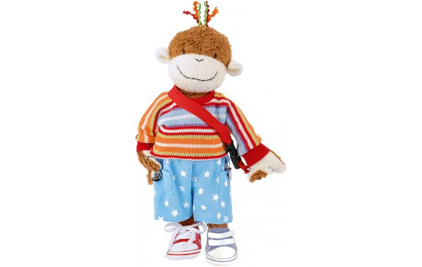 Cara Mello monkey dressing doll