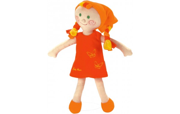 Cloth baby doll Elli