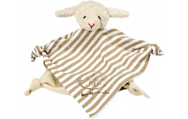 Organic lamb towel doll