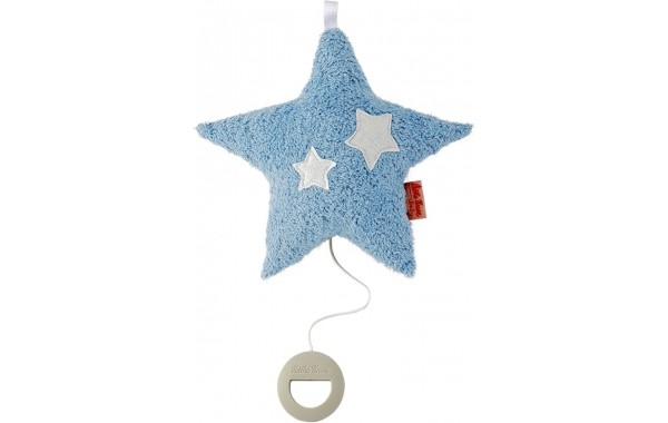 Organic hanging blue musical star