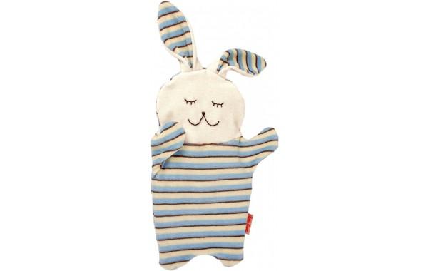 Organic Blue bunny cherry stone pillow