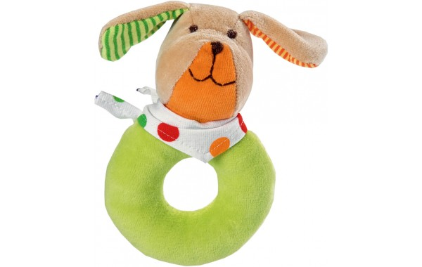 Winston dog doughnut rattle
