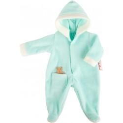 Doll coat with hood 12 - 13 inches