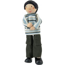 Father doll dressed casual