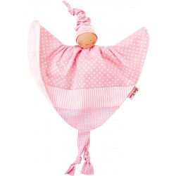Organic Waldorf pink towel doll