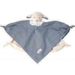 Vichy lamb towel doll