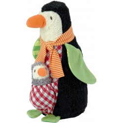 Penguin Friedjof with baby Nana