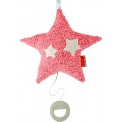 Organic hanging pink musical star