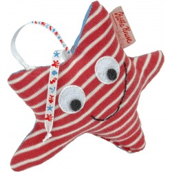 Shaking starfish toy