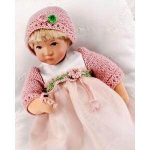 Rosa, blond Däumlinchen doll