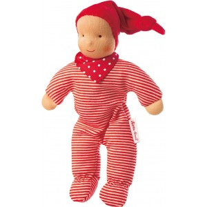 Baby Schatzi red Waldorf doll