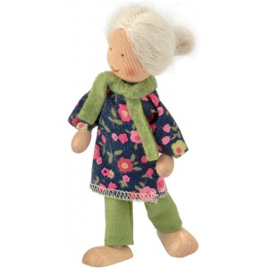 Waldorf grandmother doll