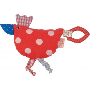 Luckies activity hen with teether